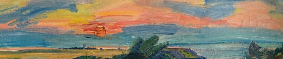Waldemar Rösler, Sonnenuntergang, 1912